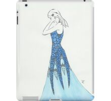Silver hearts iPad Case/Skin