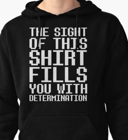 Undertale - Determination  Pullover Hoodie