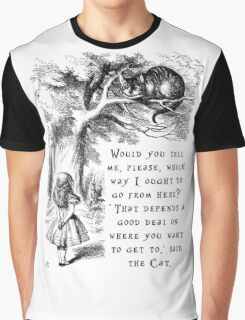 Which way should I go? Graphic T-Shirt