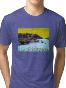 Ring. Cork Tri-blend T-Shirt