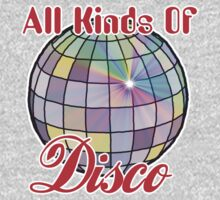 All Kinds Of Disco One Piece - Short Sleeve