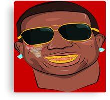 Gucci Mane-Burr-Trap God Canvas Print