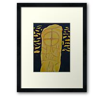 Gallarus Stone, Kerry Framed Print