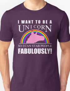 Unicorn Humor Unisex T-Shirt