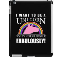 Unicorn Humor iPad Case/Skin
