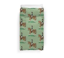 Dressage  Duvet Cover