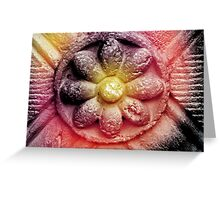 Colorized Flower Greeting Card