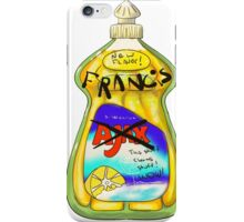Francis, it cleans stuff! iPhone Case/Skin