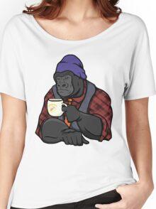 Grumpy Gorilla's Banana Brew Women's Relaxed Fit T-Shirt