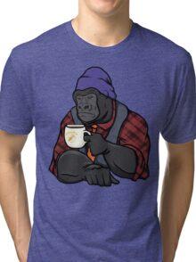 Grumpy Gorilla's Banana Brew Tri-blend T-Shirt