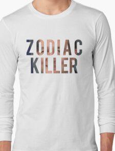 ZODIAC KILLER Long Sleeve T-Shirt