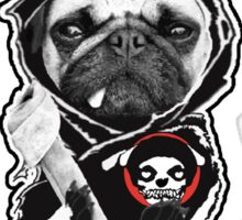 pugs of anarchy Sticker