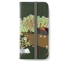 Permaculture farm iPhone Wallet