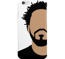 J Cole Minimalistic Cartoon iPhone Case/Skin