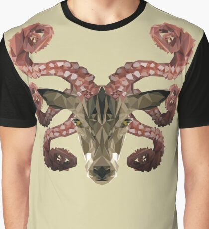 Lovecraft's Stag Graphic T-Shirt