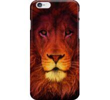 Lion Man iPhone Case/Skin