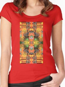 PATTERNS FOR TYRA 66 Women's Fitted Scoop T-Shirt