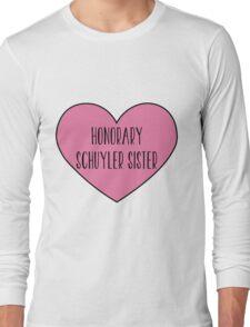Honorary Schuyler Sister Long Sleeve T-Shirt