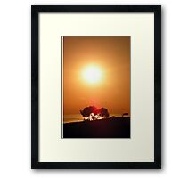 Dawn in the South seventh series Framed Print