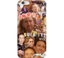 Nic Cage Collage iPhone Case/Skin