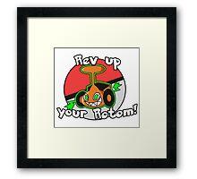 Rev up your Rotom Framed Print