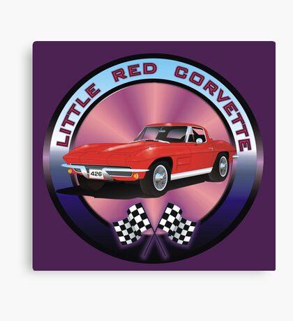 A Little Red Corvette Canvas Print