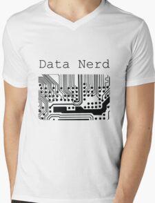 Data Nerd - Geek Design Mens V-Neck T-Shirt