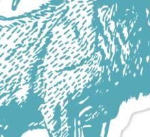 Deer Artwork Sticker