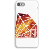 ADPi Diamond - Red iPhone Case/Skin