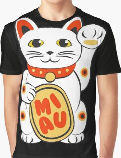 Miau Graphic T-Shirt