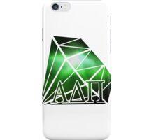 ADPi Diamond - Green iPhone Case/Skin