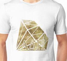 ADPi Diamond - Gold Unisex T-Shirt