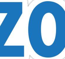 Kalamazoo KZOO Light Blue Sticker
