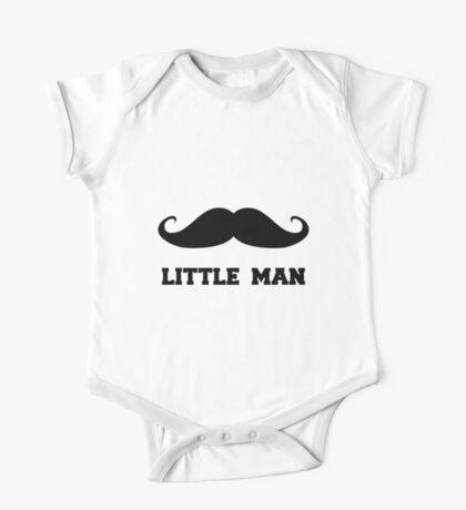 Little Man One Piece - Short Sleeve