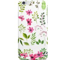 Floral Formation iPhone Case/Skin
