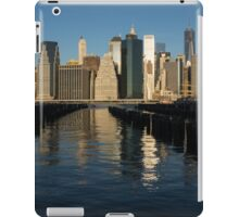 Manhattan Waking Up iPad Case/Skin