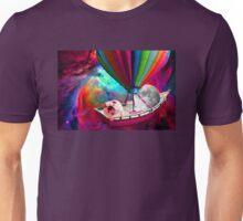 Galaxy Space Dog Unisex T-Shirt