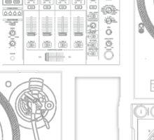 DJ Equipment Gear Sticker