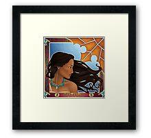 Autumn Nouveau  Framed Print