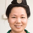 Black Thai Woman Dien Bien Phu by Andrew  Makowiecki