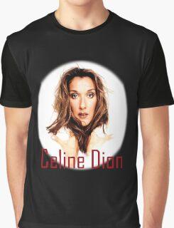 Celine Dion Face beauty Graphic T-Shirt