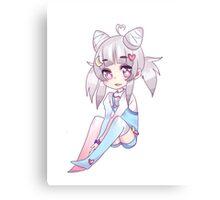 Chibi Luna  Canvas Print