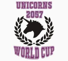 2057 World Cup - Unicorns Baby Tee
