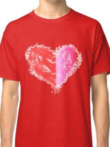 Ink Blop Heart Classic T-Shirt
