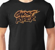 Ghost Rider - Classic Title - Dirty Unisex T-Shirt