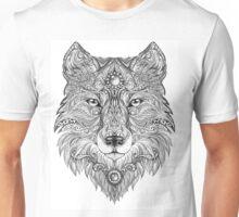 Head wolf wild beast of prey Unisex T-Shirt