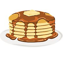 Pancake Photographic Print