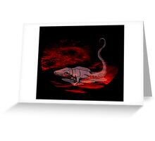 Animalia : Fire Dragon Greeting Card