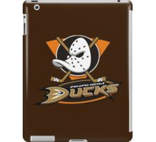 Anaheim Mighty Ducks brown iPad Case/Skin