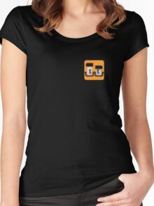 Quad Cube Women's Fitted Scoop T-Shirt